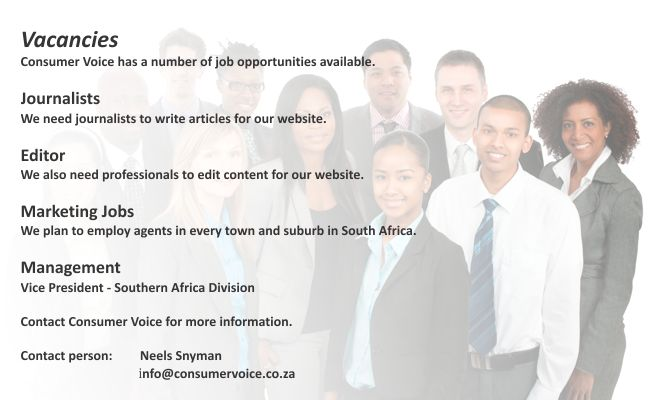 Consumer Voice - Vacancies